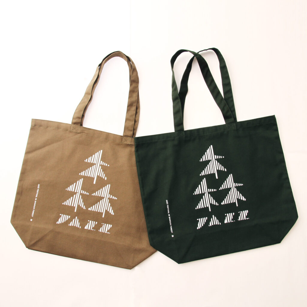 森のJAZZ祭公式トートバッグ